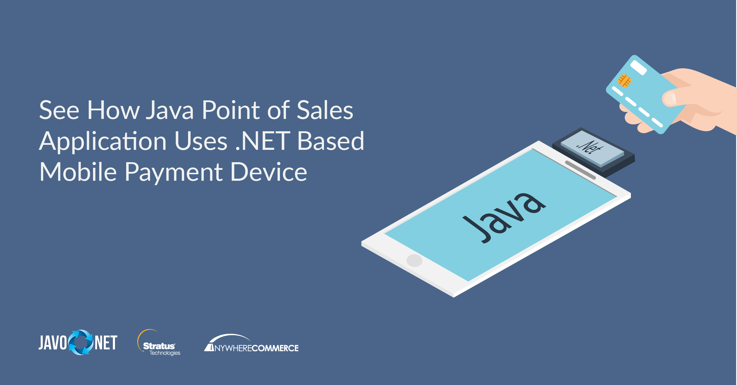 See How Java Point Of Sales Application Uses .NET Based Mobile Payment Device