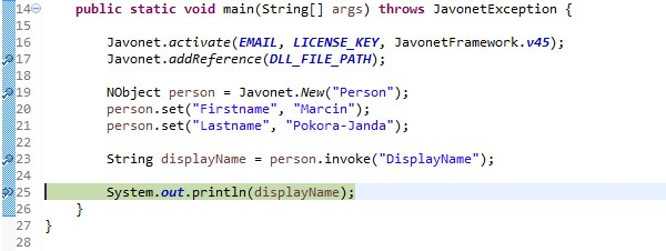 How to debug .NET code called from Java